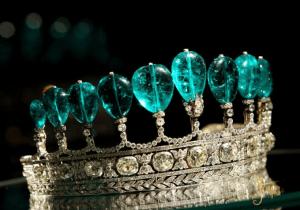tiara de diamantes de la princesa von Donnersmarck