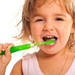 Dientes sanos en los niños
