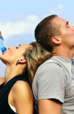 beber mas en verano