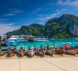 Phuket city en Tailandia