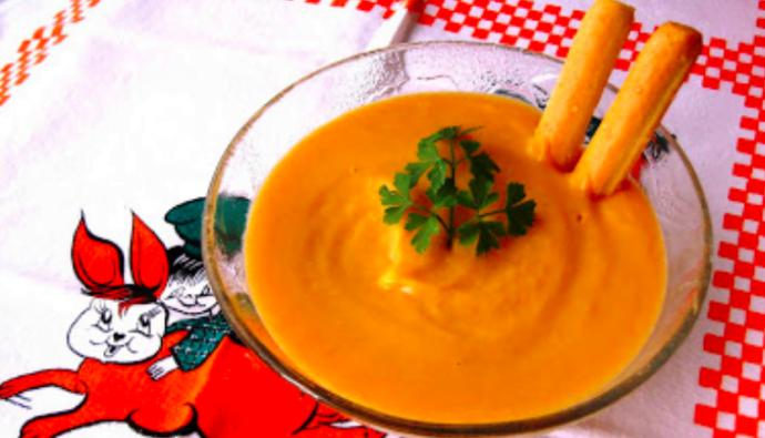 receta crema de verduras