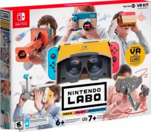 Llega la realidad virtual a Nintendo Labo 12