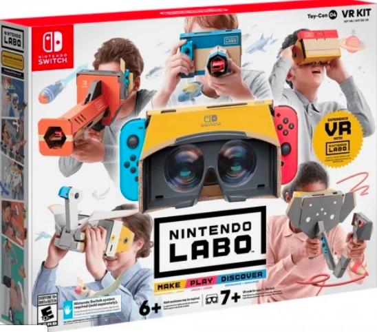 Juego Realidad Virtual Nintendo Labo