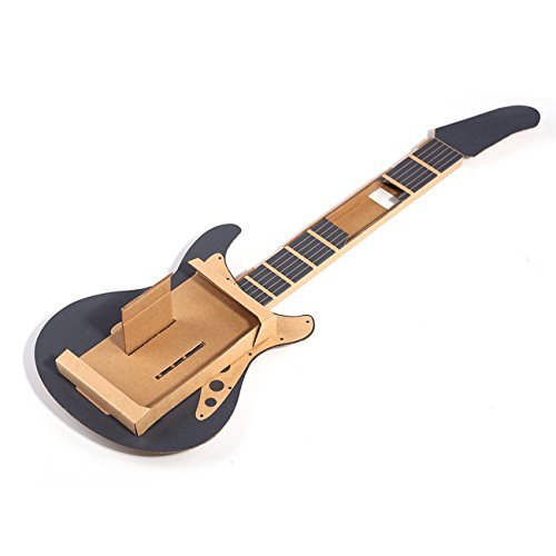 Labo DIY Carboard Guitarra Holder para Nintendo Switch,The perseids Estuche de música DIY para controladores Joy-Con, modo de garaje for Toy-Con