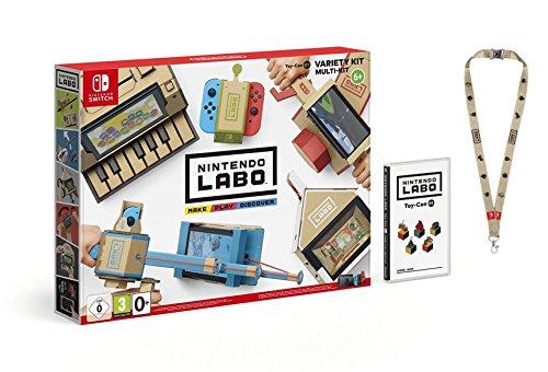 Switch Nintendo Labo: Toy-Con Kit variado + Colgante