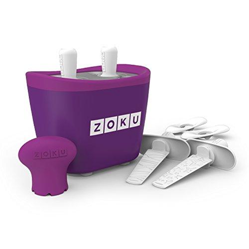 Zoku M260177 - Maquina Helados Doble Purpura