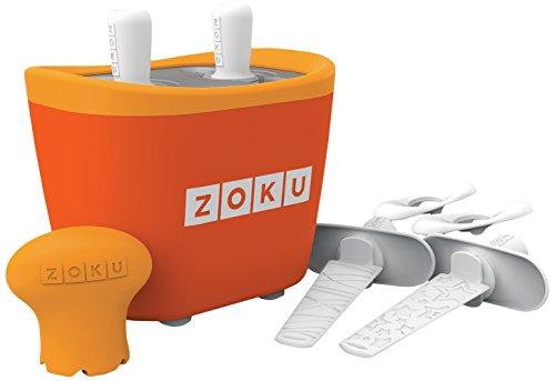 Zoku M285379 - Maquina Helados Doble Naranja