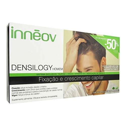 Inneov Densilogy Alpha - Suplemento para cabello, 90 capsulas y 90 comprimidos