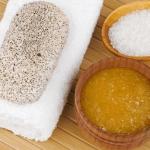 Exfoliante con sal casero