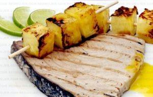 5 comidas en la dieta de la piña y el atún