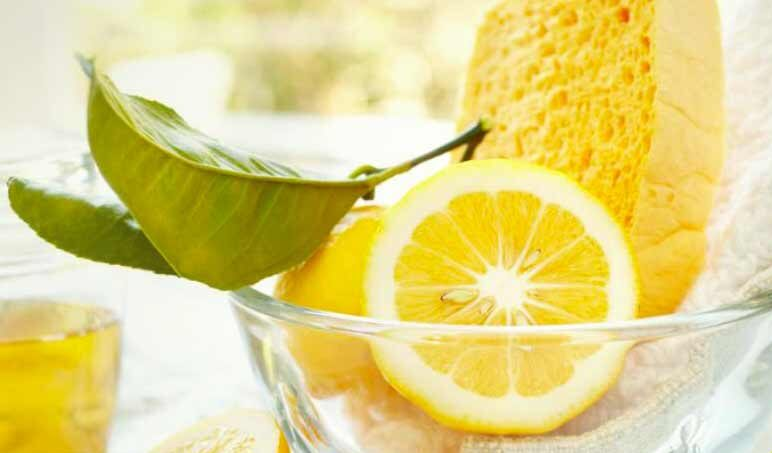 limpieza con limón