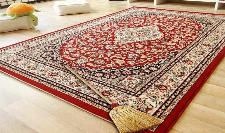 limpiar una alfombra