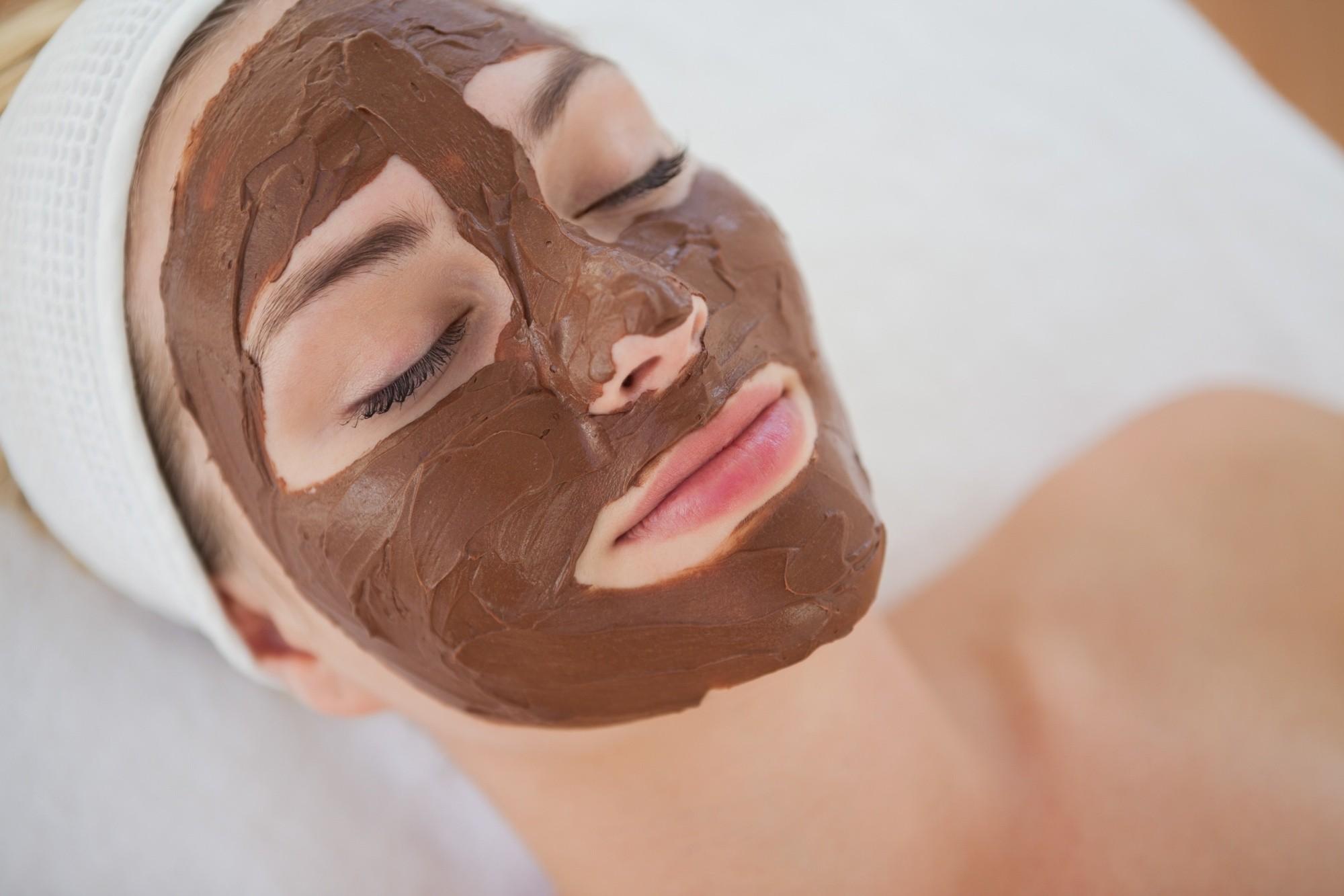 mascarilla facial de chocolate casera